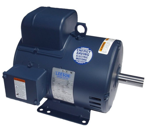 3 hp 3450 RPM 182T Frame 115/208-230V Open Drip Leeson Electric Motor # 131636