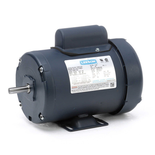 102013.00 Leeson |  1/6 hp 1140 RPM 48 Frame TEFC 115/208-230 Volts