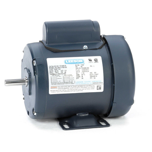 101446.00 Leeson |  1/4 hp 1725 RPM 48 Frame TEFC 115/208-230 Volts