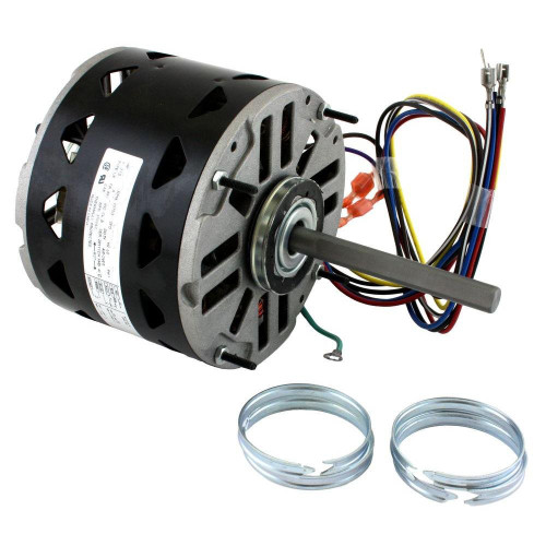 DL1026 Century 1/4 hp 1075 RPM 3-Speed 48 Frame 115V Direct Drive Furnace Motor
