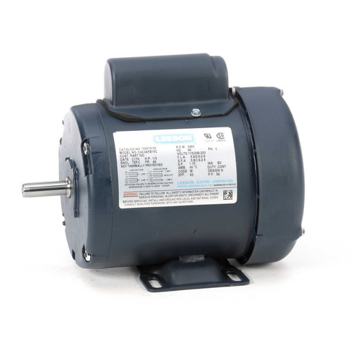 102016.00 Leeson |  1/3 hp 3450 RPM 48 Frame TEFC 115/208-230 Volts