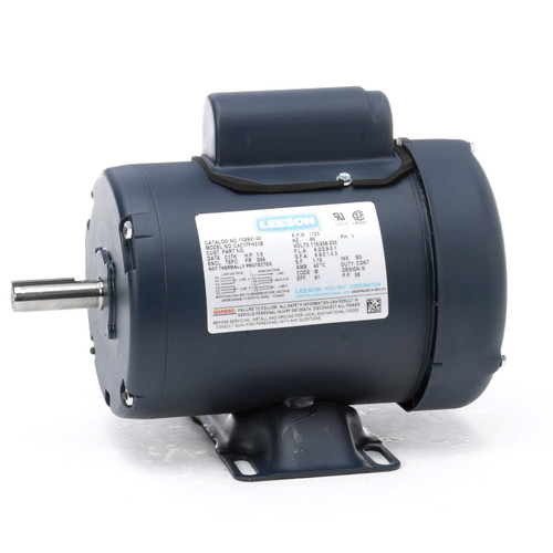 102931.00 Leeson |  1/3 hp 1725 RPM 56 Frame TEFC 115/208-230 Volts