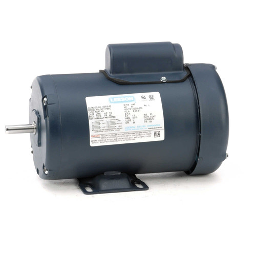 102019.00 Leeson |  1/3 hp 1140 RPM 48 Frame TEFC 115/208-230 Volts