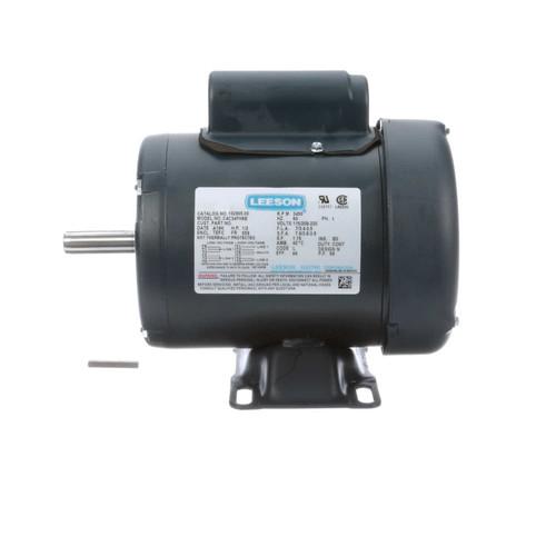 1/2 hp 3450 RPM 56 Frame TEFC 115/208-230V Leeson Electric Motor # 102905