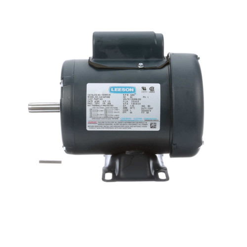 102905.00 Leeson |  1/2 hp 3450 RPM 56 Frame TEFC 115/208-230 Volts