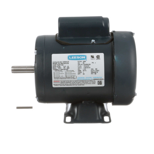 102904.00 Leeson |  1/2 hp 3450 RPM 56 Frame TEFC 115/208-230 Volts