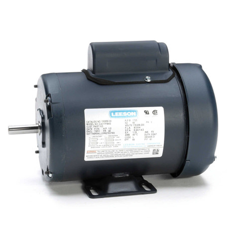 100956.00 Leeson |  1/2 hp 1725 RPM 48 Frame TEFC 115/208-230 Volts