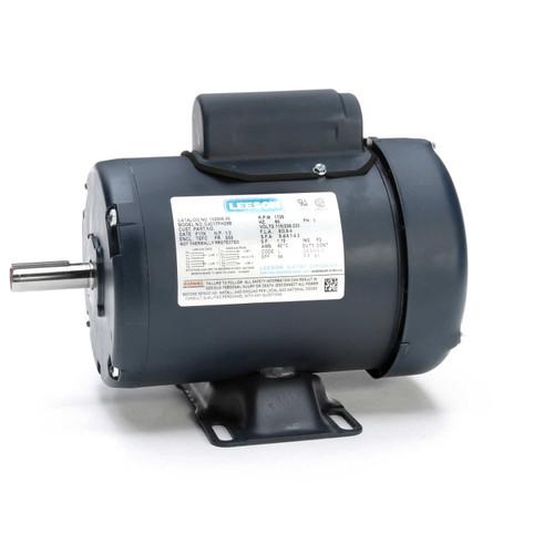 1/2 hp 1725 RPM 56 Frame TEFC 115/208-230V Leeson Electric Motor # 102906