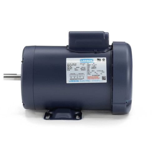 110011.00 Leeson |  1/2 hp 1140 RPM 56 Frame TEFC 115/208-230 Volts