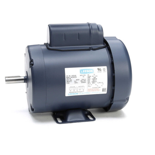 110276.00 Leeson |  3/4 hp 3450 RPM 56 Frame TEFC 115/208-230 Volts
