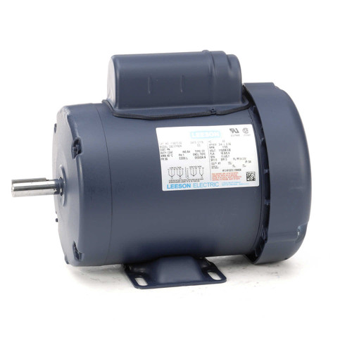 110013.00 Leeson |  3/4 hp 1725 RPM 56 Frame TEFC 115/208-230 Volts