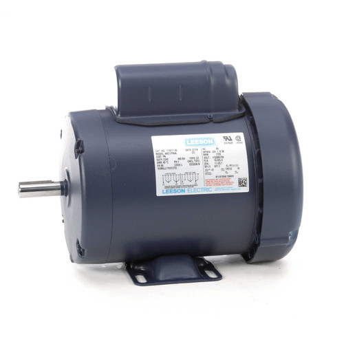 110017.00 Leeson |  3/4 hp 1725 RPM 56 Frame TEFC 115/208-230 Volts