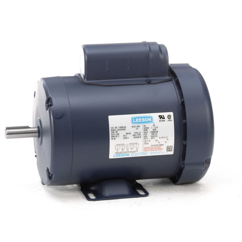 110059.00 Leeson |  1 hp 3450 RPM 56 Frame TEFC 115/208-230 Volts