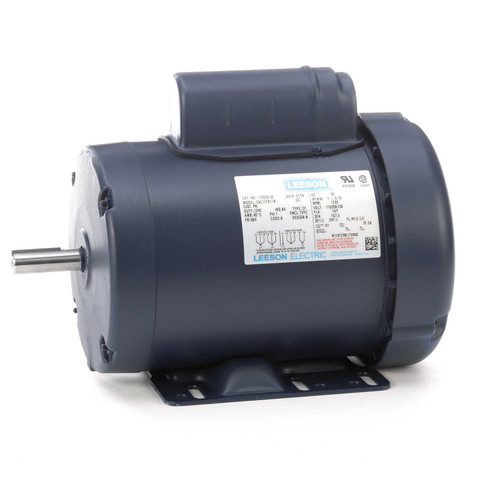 110209.00 Leeson |  1 hp 1725 RPM 56H Frame TEFC 115/208-230 Volts
