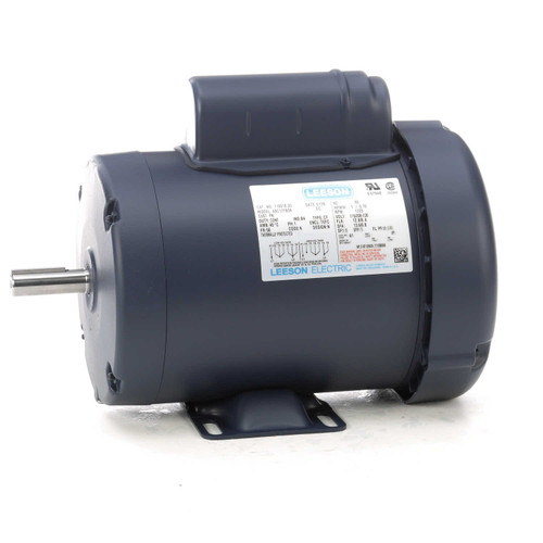 1 hp 1725 RPM 56 Frame TEFC 115/208-230V Leeson Electric Motor # 110018