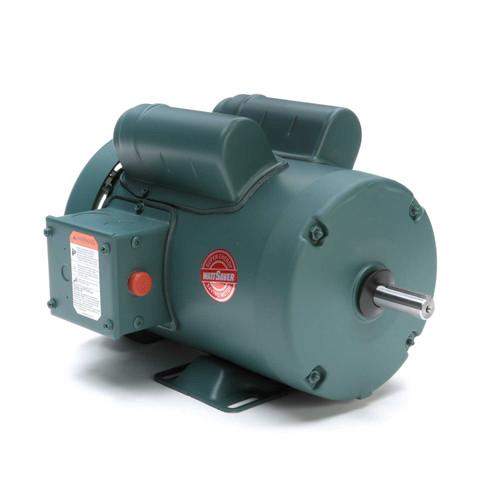 1 hp 1725 RPM 56 Frame TEFC 115/208-230V Leeson Electric Motor # 113768
