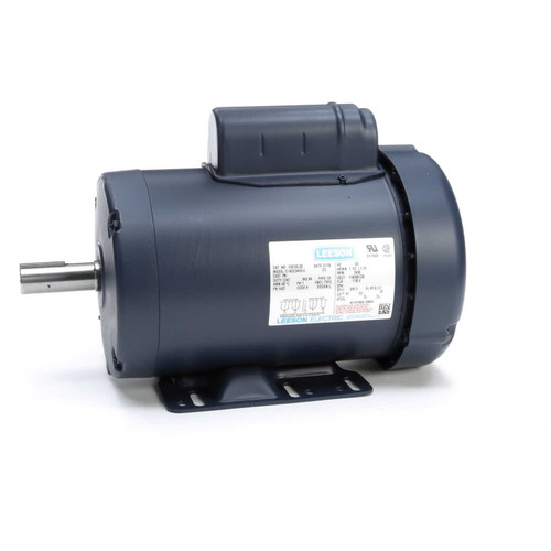 1.5 hp 3450 RPM 143T Frame TEFC 115/208-230V Leeson Electric Motor # 120130