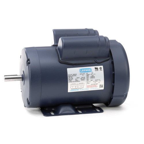 110019.00 Leeson |  1.5 hp 1725 RPM 56H Frame TEFC 115/208-230 Volts