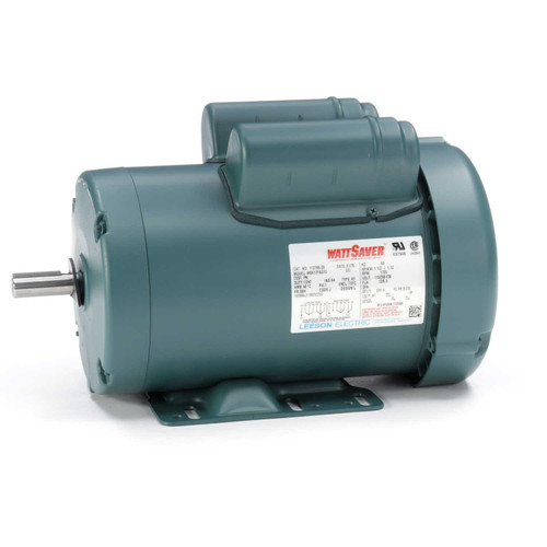 1.5 hp 1725 RPM 56H Frame TEFC 115/208-230V Leeson Electric Motor # 113769