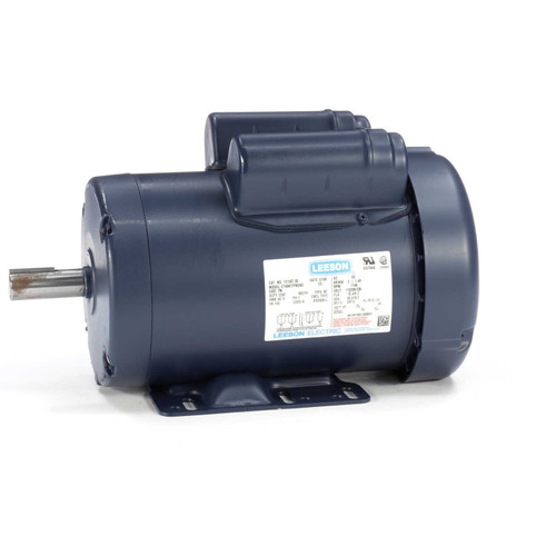2 hp 1725 RPM 145T Frame TEFC 115/208-230V Leeson Electric Motor # 121507