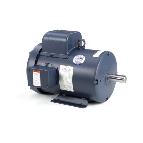 3 hp 3450 RPM 182T Frame TEFC 115/208-230V Leeson Electric Motor # 131637