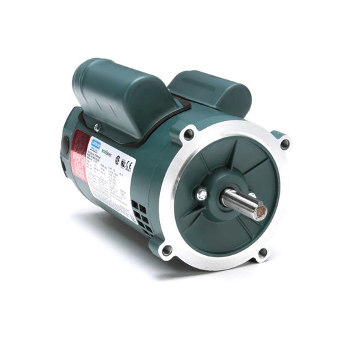 E100018.00 Leeson |  1/3 hp 1800 RPM 56C Frame ODP C-Face (no base) 115/230V