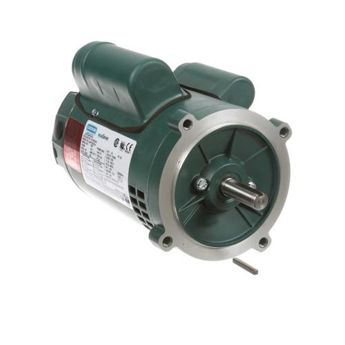 E101522.00 Leeson |  1/3 hp 1800 RPM 56C Frame ODP C-Face (no base) 115/230V