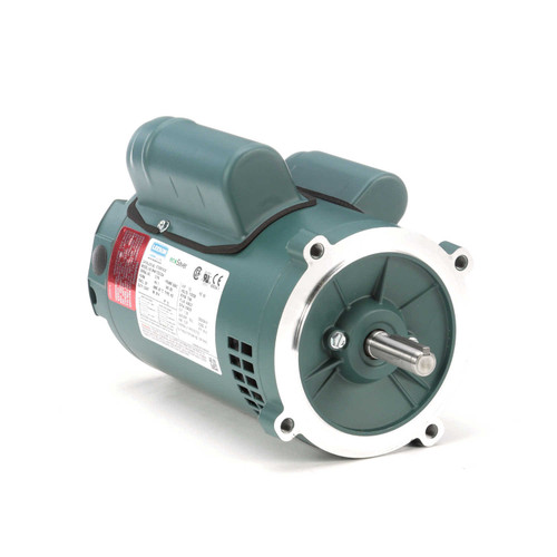 E100019.00 Leeson |  1/2 hp 1800 RPM 56C Frame ODP C-Face (no base) 115/230V