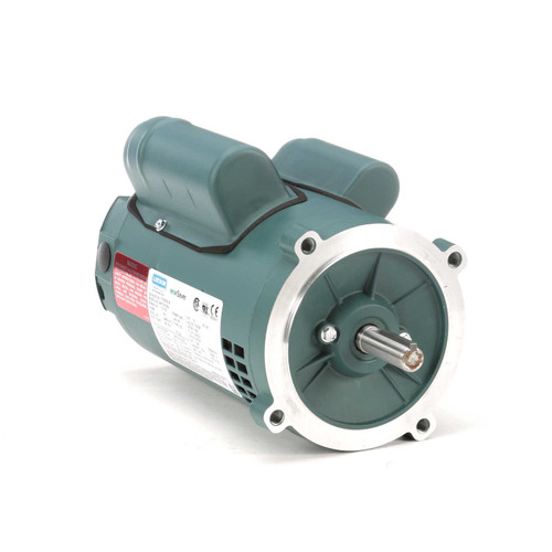E100020.00 Leeson |  1/2 hp 1800 RPM 56C Frame ODP C-Face (no base) 115/230V