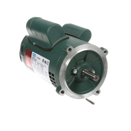 E100055.00 Leeson |  3/4 hp 3600 RPM 56C Frame ODP C-Face (no base) 115/230V