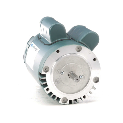 1 hp 1800 RPM 56C Frame ODP C-Face (no base) 208-230V Leeson Electric Motor # E110036