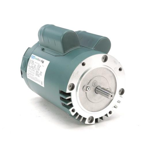 E113335.00 Leeson |  2 hp 3600 RPM 56C Frame ODP C-Face (no base) 115/230V