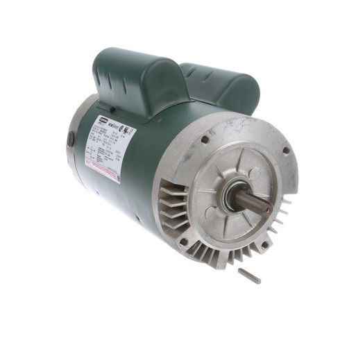 E113334.00 Leeson |  3 hp 3600 RPM 56C Frame ODP C-Face (no base) 230V