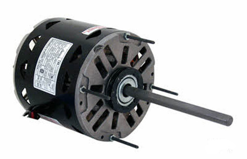 BD1106 Century 1 hp 1075 RPM 3-Speed 48 Frame 208-230V Direct Drive Furnace Motor