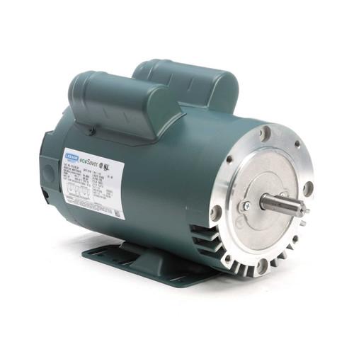 E113700.00 Leeson |  1.5 hp 1800 RPM 56HC Frame ODP C-Face (rigid base) 115/230V E