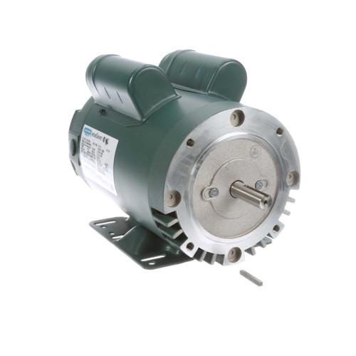E114215.00 Leeson |  2 hp 3600 RPM 56C Frame ODP C-Face (rigid base) 115/230V