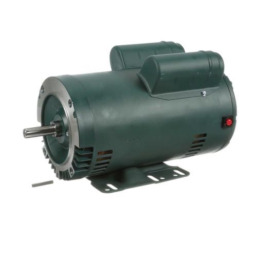 2 hp 1800 RPM 56HC Frame ODP C-Face (rigid base) 115/208-230V Leeson Electric Motor # E113281