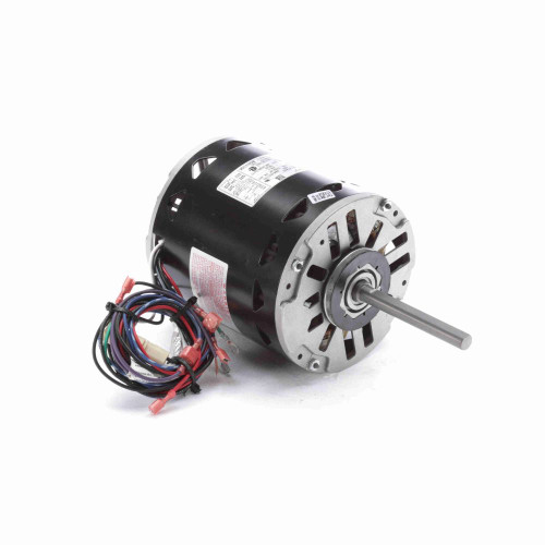 BDH1106 Century 1 hp 1075 RPM 3-Speed 48 Frame 460V Direct Drive Furnace Motor