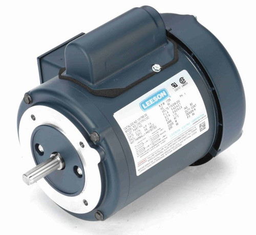101765.00 Leeson |  1/4 hp 1725 RPM 48C Frame TEFC C-Face (no base) 115/208-230 Volts