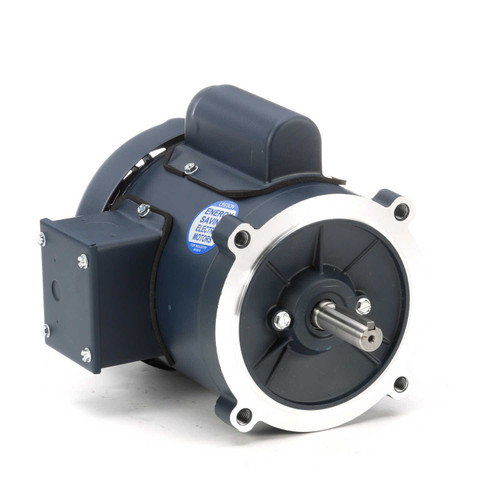 102866.00 Leeson |  1/4 hp 1800 RPM 56C Frame TEFC C-Face (no base) 115/208-230V