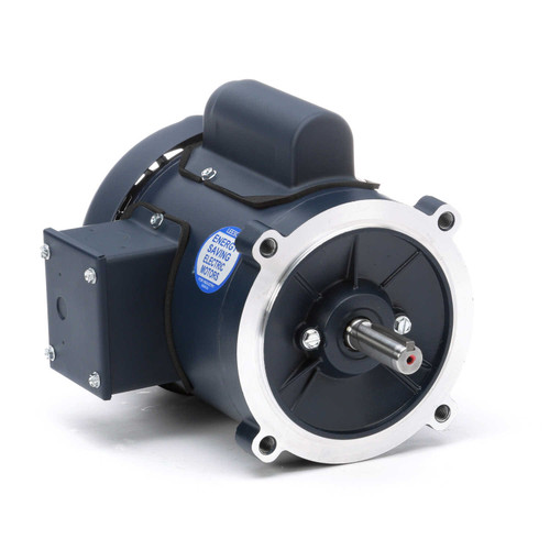 102870.00 Leeson |  1/3 hp 3600 RPM 56C Frame TEFC C-Face (no base) 115/208-230V