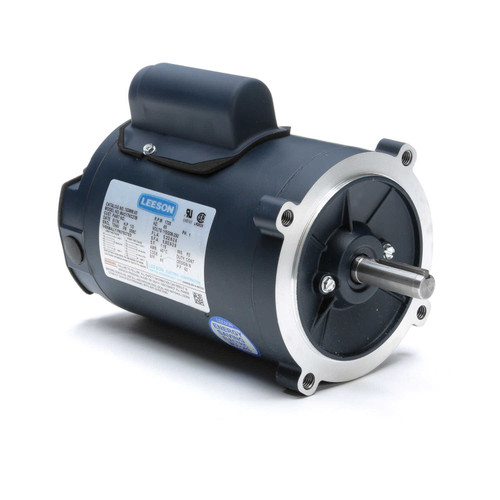 102869.00 Leeson |  1/3 hp 1800 RPM 56C Frame TENV C-Face (no base) 115/208-230V