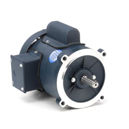 102864.00 Leeson |  1/2 hp 3600 RPM 56C Frame TEFC C-Face (no base) 115/208-230V