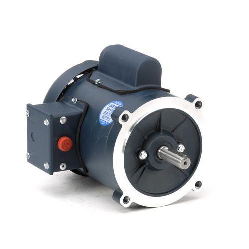 102872.00 Leeson |  1/2 hp 3450 RPM 56C Frame TEFC C-Face (no base) 115/208-230 Volts