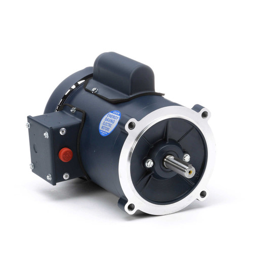 102865.00 Leeson |  1/2 hp 1800 RPM 56C Frame TEFC C-Face (no base) 115/208-230V