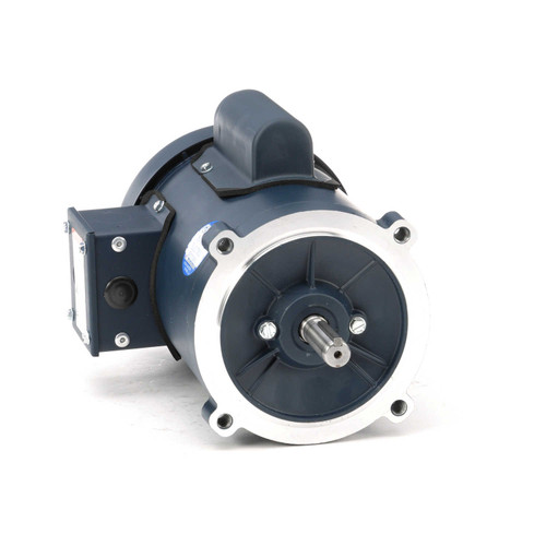 102871.00 Leeson |  1/2 hp 1800 RPM 56C Frame TEFC C-Face (no base) 115/208-230V