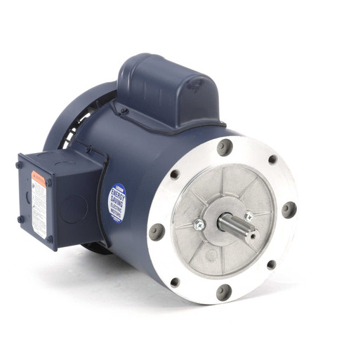 110057.00 Leeson |  3/4 hp 1800 RPM 56C Frame TEFC C-Face (no base) 115/208-230V