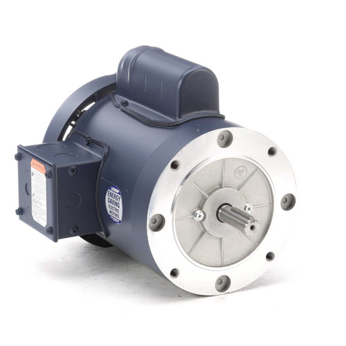 110308.00 Leeson |  3/4 hp 1800 RPM 56C Frame TEFC C-Face (no base) 115/208-230V