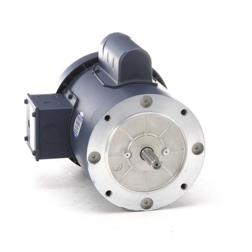 110416.00 Leeson |  1 hp 3600 RPM 56C Frame TEFC C-Face (no base) 115/208-230V