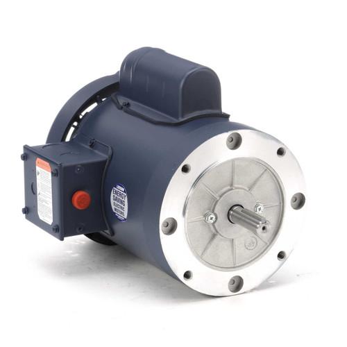 110415.00 Leeson |  1 hp 3600 RPM 56C Frame TEFC C-Face (no base) 115/208-230V